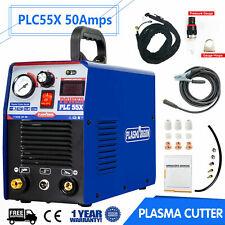 50a Igbt Air Plasma Cutter Dc Inverter Cutting Machine Plc55x Clean Cut 110220v