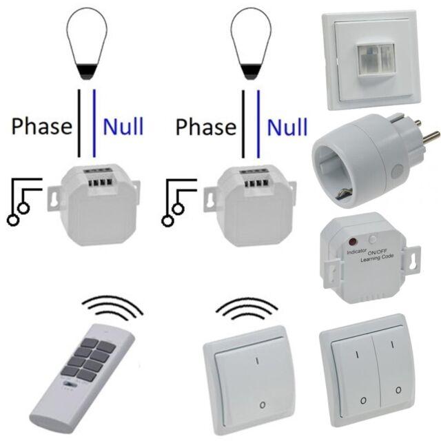 Funkschaltsystem Comfort FUNK Schaltsystem Schalter Sender Empfänger