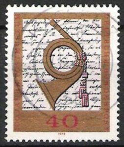 Le Meilleur Bund Nº 739 100 Ans Postmuseum 1972, Estampillé-afficher Le Titre D'origine