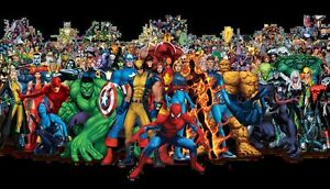 comics-a-bundle-of-50-NEW-marvel-only-mixed
