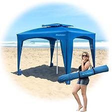 EasyGo Cabana -Beach & Sports Cabana keeps you Cool and Comfortable. Easy Set-up