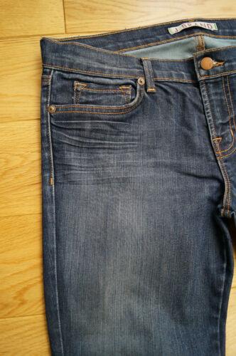 Blue Crop Sz29 Darkvint Brand The Zip J Deal Jeans 4666 Denim Skinny Hemline nRHwSxOYvq