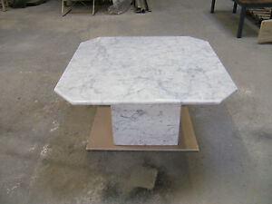 Marble Coffee Tables In Solid Polished White Carrara Marble Xcm - White carrara marble coffee table