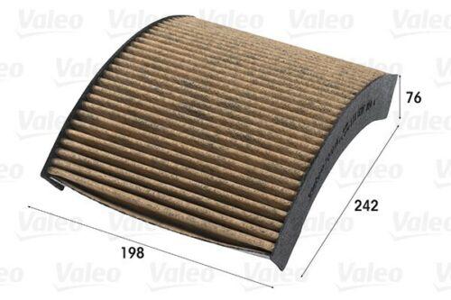 VALEOFILTRE INTÉRIEUR ambiant climfilter Supreme 1 pour BMW Pollen Filtre 701019