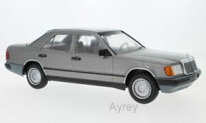 MCG-18100-MERCEDES-300-D-W124-diecast-model-car-metallic-dark-grey-1984-1-18th