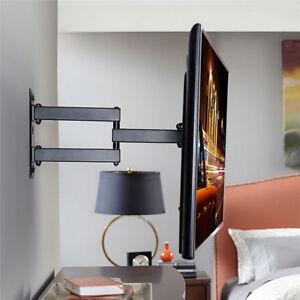 Full Motion Lcd Led Tv Wall Mount Bracket Swivel Tilt For Lg Samsung