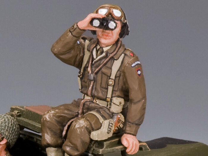 KING AND COUNTRY WW2 Sitting Dingo Commander D Day DD164
