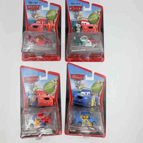Disney PIXAR Cars 2 Super Chase RUSSIAN RACER// LONG GE// FLASH// MEMO ROJAS JR Toy