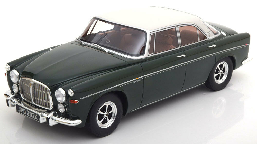 1971 Rover P5b Coupe Dark verde by BoS Models LE of 1000 1 18 Scale New