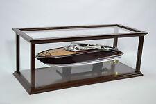 "Wooden Display Case for Boat Model 32"""