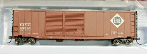 ATLAS MASTER LINE 20 004 410 ERIE 50/' Postwar Double Door Box Car HO Scale