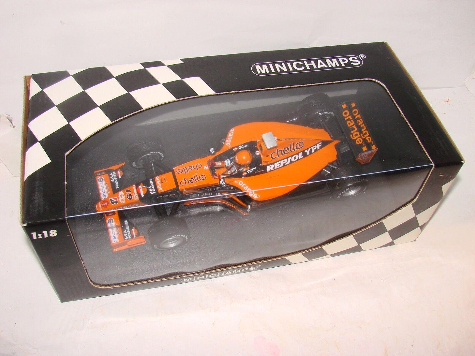 Minichamps flechas A21, Verstappen neumáticos de lluvia, Canadá Grand Prix 2018