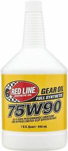 Red-Line-75W90-Alta-Performance-Cambio-amp-Differenziale-Lsd-Olio-946ml