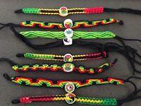 8 Rasta Bracelets Fun