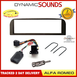 Awe Inspiring Car Radio Stereo Fascia Facia Fitting Wiring Kit Dark Grey For Alfa Wiring Cloud Hisonuggs Outletorg