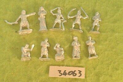 10 Guerrieri Del Deserto In Metallo Street Fighters (34063)-mostra Il Titolo Originale