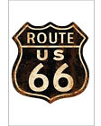 Route 66 Metal Sign - NEW