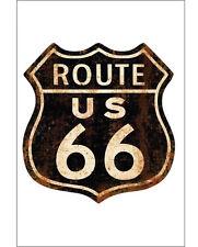 Route 66 Cartello in metallo-NUOVO