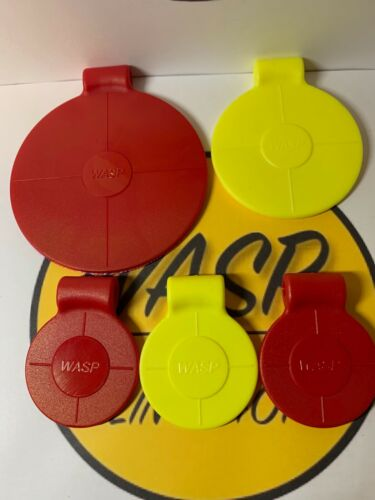 5 Spinning Targets  multi pack New Wasp Target Spinners Value Pack