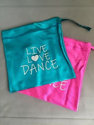"""Gymnastic Leotard Hand Guard Bag 10/"""" x 9.5/""""  OLYMPIQUE From UK"""