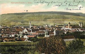 Vintage Postcard Mergentheim V. Suden Main-Tauber-Kreis district Germany