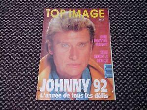 """Johnny Hallyday """"Top image"""" n°2 1992 (Poster Géant JH en Moto) - France - État : Trs bon état: Livre qui ne semble pas neuf, ayant déj été lu, mais qui est toujours en excellent état. La couverture ne présente aucun dommage apparent. Pour les couvertures rigides, la jaquette (si applicable) est incluse. Aucune p - France"""