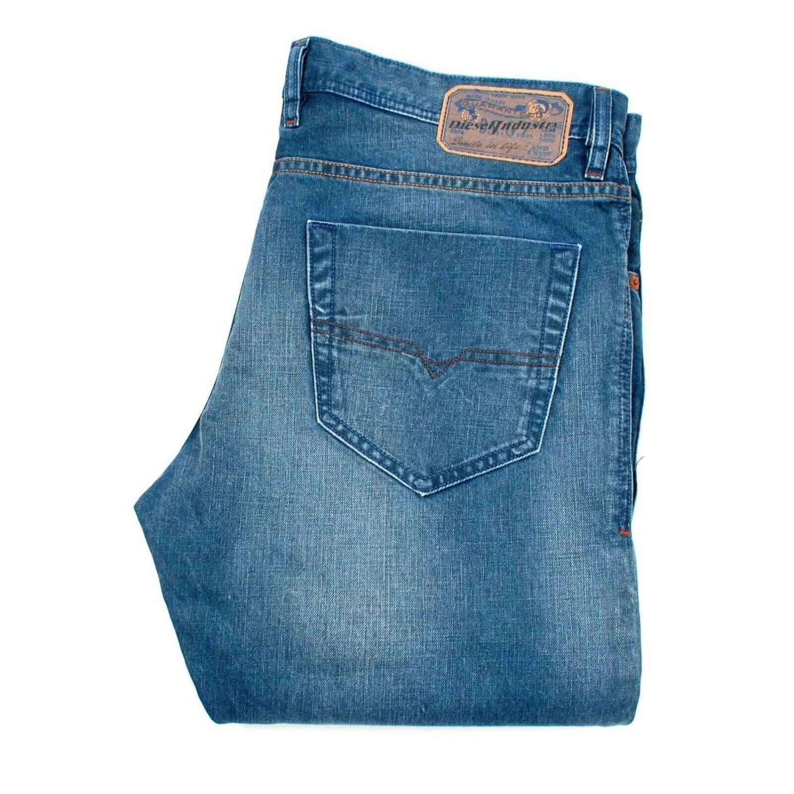 DIESEL NEW Tepphar 0RB81 Slim Fit bluee men Jeans Size 33 32