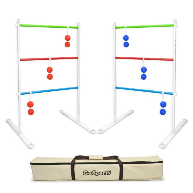 GoSports Premium Metal Ladder Toss Hillbilly Golf Game Set with Carry Case