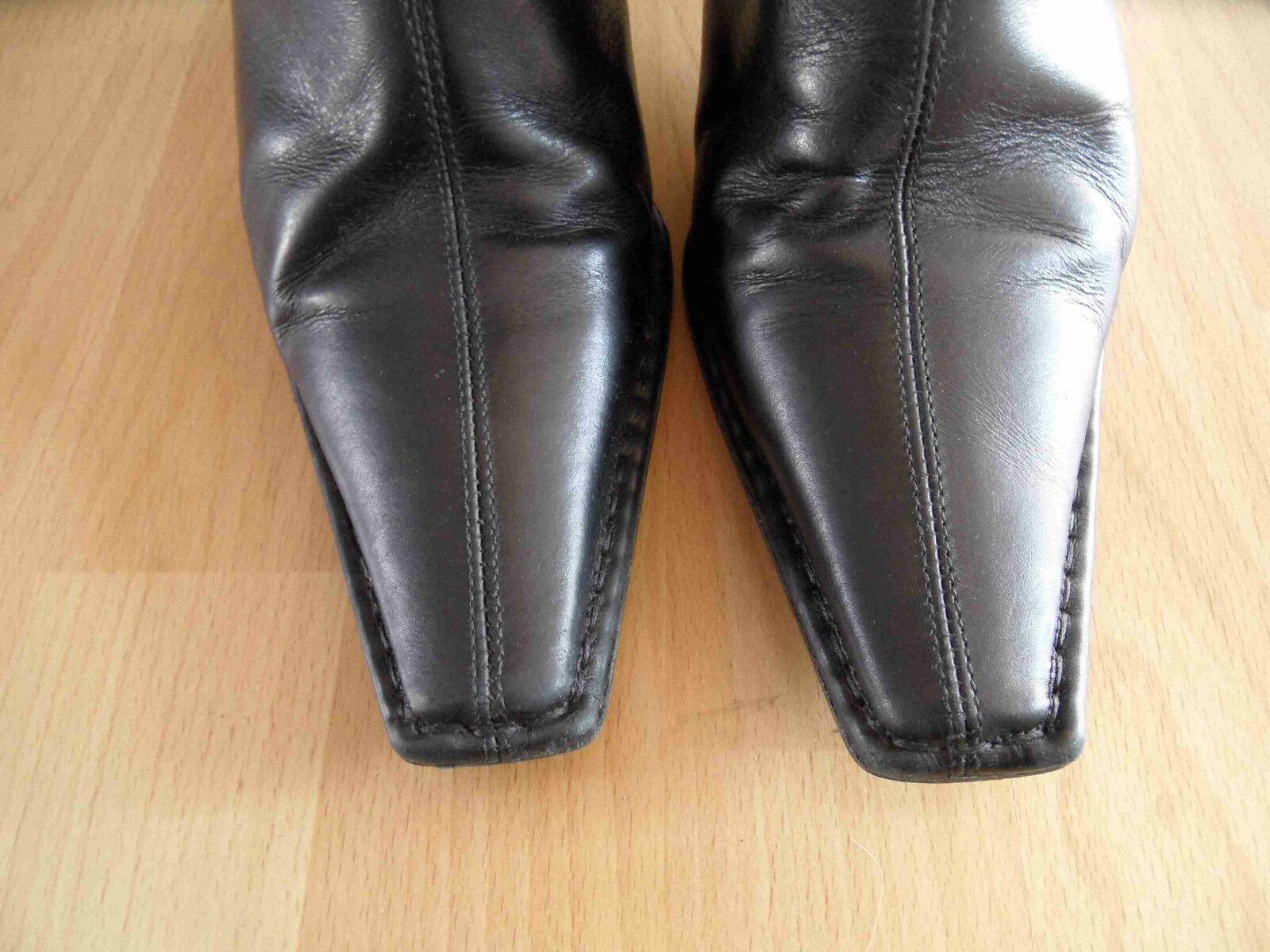 LAZZARINI chice gefütterte hohe TOP Stiefel schwarz Gr. 39 TOP hohe (VS 514) ce3928