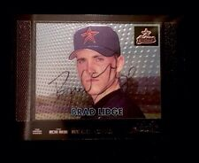 BRAD LIDGE 2000 Bowman Chrome Autographed Signed Auto Baseball Card 271 Phillies