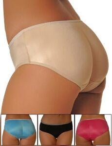 e07c9b5ea Padded Butt Enhancer Super Low-Rise Panty Booty Brief Rear Shaper ...
