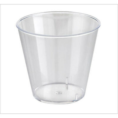 Disposable Clear Plastic 30ml Party Jelly Shot Glasses Cup 50 pieces vodka rum
