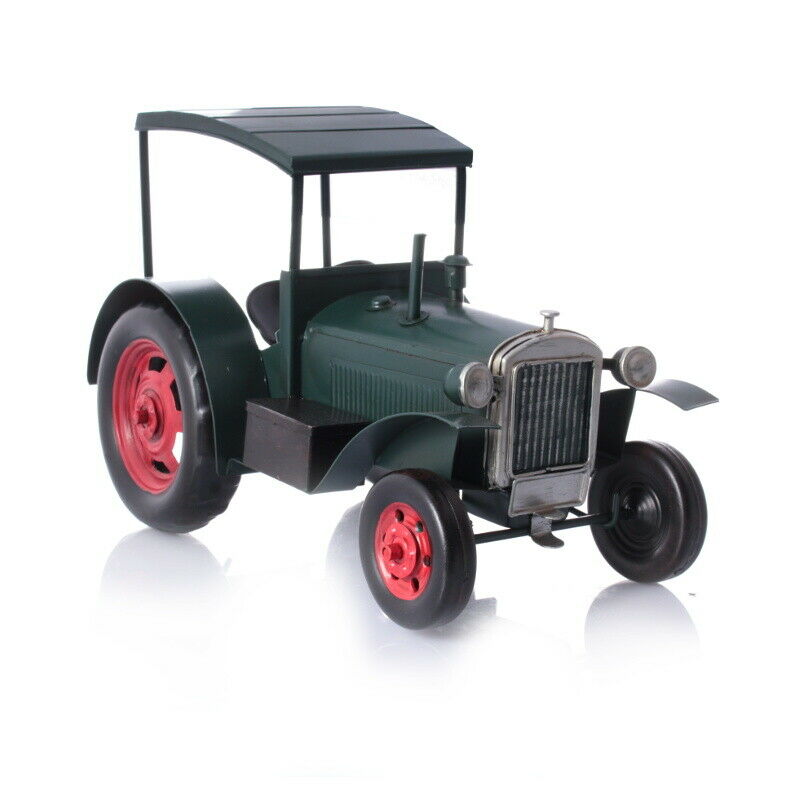 Retro tin model - Hanomag tractor with trailer
