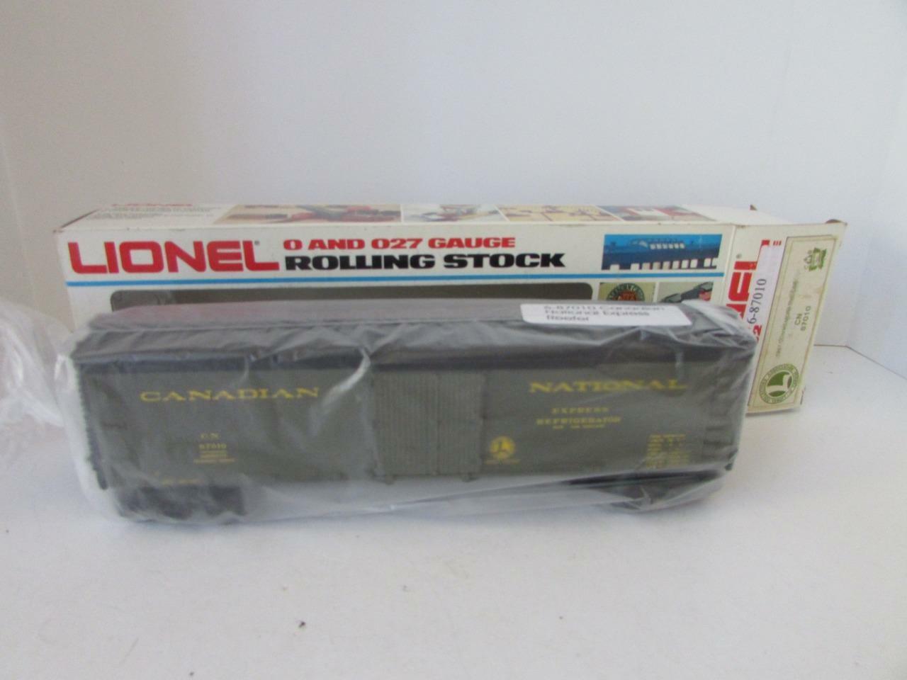 Producción  87010 - LCAC - natl 1987 frigorífico - New - M22