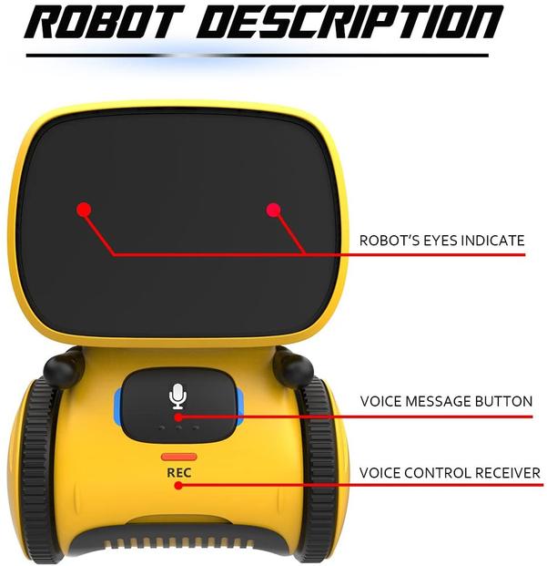 Remoking Robot Toy Educational Stem Toys Robotics for Kids ...