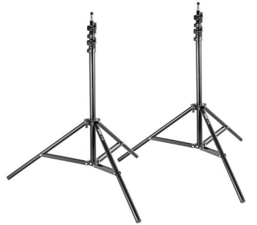 2 x ayex Lampenstative Studio-Blitzstativ mit Luftdämpfung GT-220 bis 220 cm