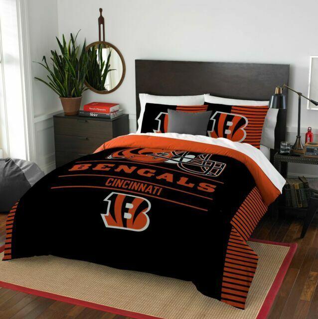 Comforter Set Full Queen Cincinnati, Bengals Queen Bedding
