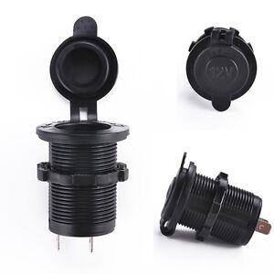 Car-Motorcycle-Universal-Charger-Power-Adapter-Cigarette-Lighter-Socket-Plug-12V