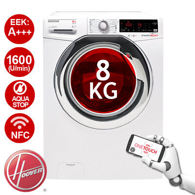 HOOVER DXOA 68AHC3-S Waschmaschine Dynamic Next A+++ -40% Invertermotor