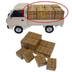 16pcs Carton Box Upgrade DIY Part for WPL D12 B16 B36 B24 MN77 MN90 MN99 RC Car