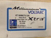 15mm Voltarc Millenium Xtra 15/60ct 2-3/4 Tubulated 20289 Box Of 100 - (new)
