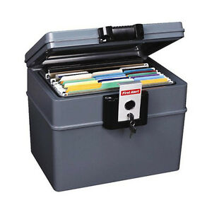 Document safe fireproof waterproof locking file storage for Lock box with slot for documents