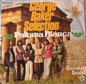 George-Baker-Selection-Paloma-Blanca-Dream-Boat-1975-Vinyl-Guter-Zustand