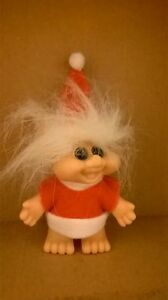 Troll-Doll-1992-CHRISTMAS-MRS-SANTA-CLAUS-3-034-I-T-B