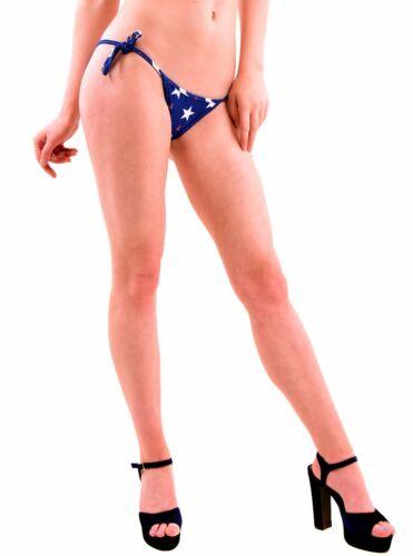 Bcf76 Taglia £ Wildfox Bikini Blu Women's Gingham Away 55 Stars S Bottom New Rrp wOOnRqaFBZ