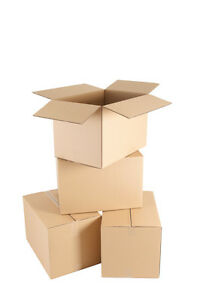200 x Single Wall 6 x 6 x 6 Inch Cardboard Storage Packing Boxes