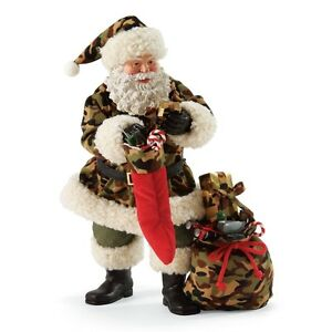 Possible-Dreams-034-HUNTING-FOR-THE-PERFECT-GIFT-034-Santa-In-Camouflage-Clothtique