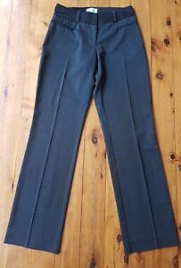 REVIEW-Black-Pinstripe-Dressy-Stretch-Pants-size-6