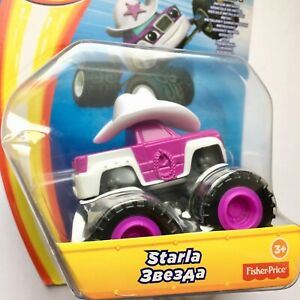 Blaze-and-The-Monster-Machines-STARLA-Fisher-Price-Die-Cast-Metal-Race-Car-NEW