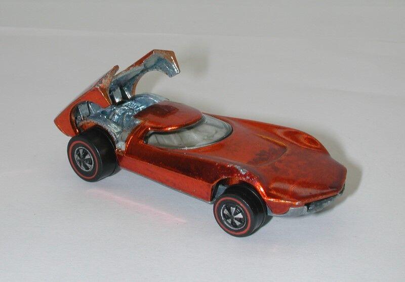 Redline Hotwheels orange 1969 Turbofire oc15918